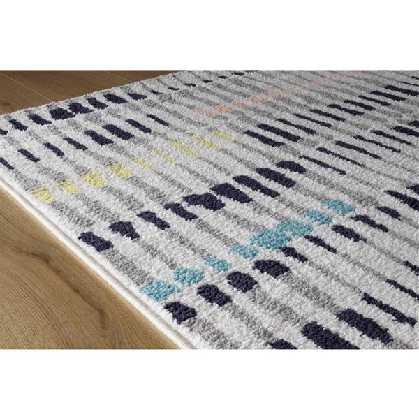 Tapis Spring crayons de couleur de Kalora, 5' x 8'