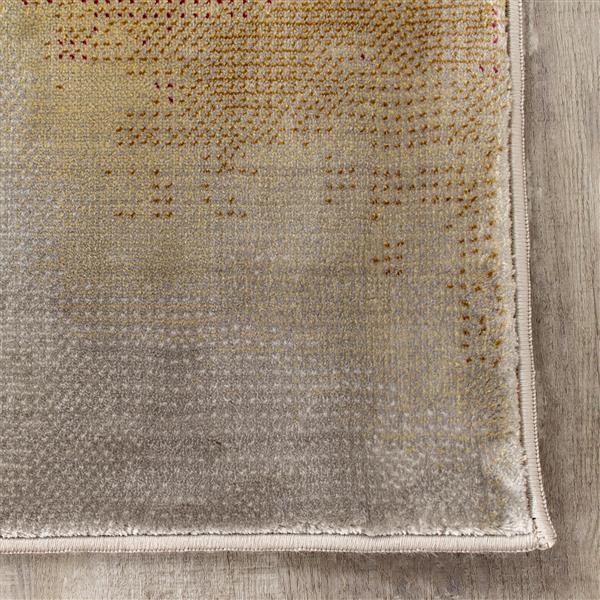 Tapis Sidra de Kalora, 2' x 4', crème