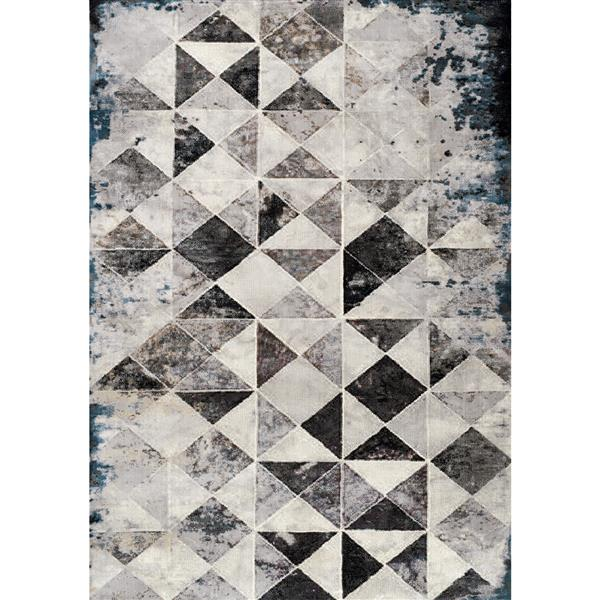 Kalora Sidra Chic Triangle Rug - 8' x 11' - Cream