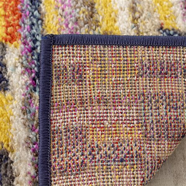 Tapis Saffron de Kalora, 8' x 11'