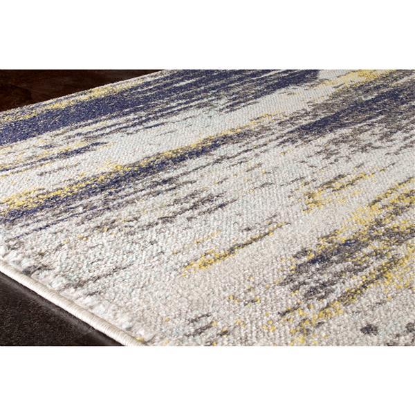 Tapis Saffron de Kalora, 8' x 11', crème
