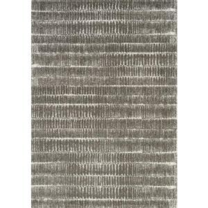 Tapis Sable cordons de Kalora, 5' x 8', gris