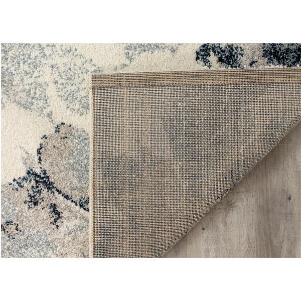 Tapis Sable de Kalora, 8' x 11', gris