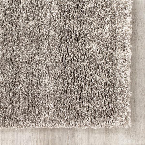Tapis Sable brouillard de Kalora, 7' x 10', gris