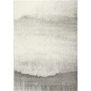 Kalora Sable Sandy Banks Rug - 7' x 10' - Grey