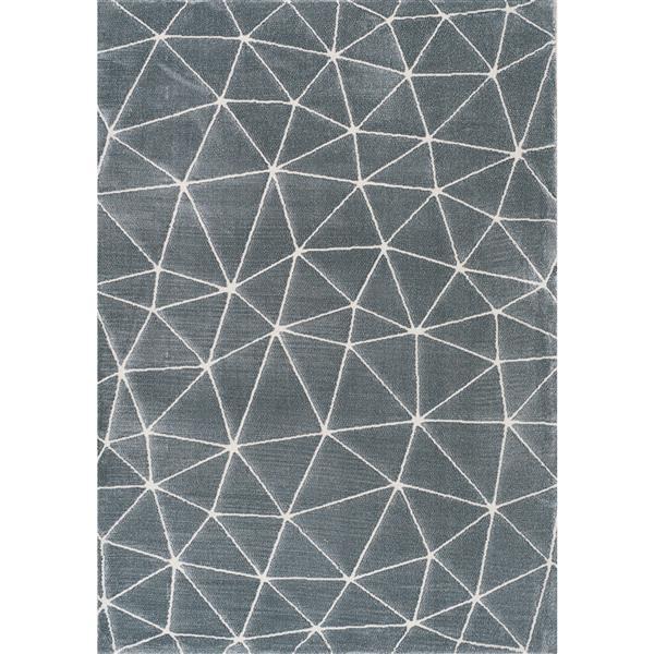 Tapis Sabine dome de Kalora, 5' x 8', bleu