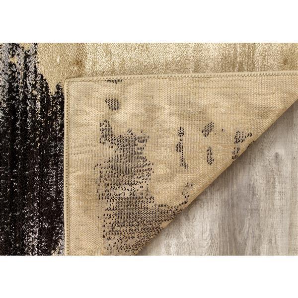 Tapis Platinum bio de Kalora, 8' x 11', beige
