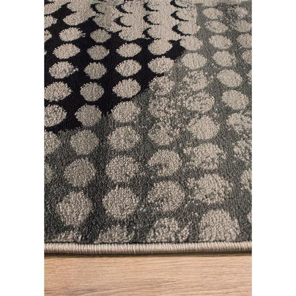 Tapis Platinum de Kalora, 3' x 5', gris
