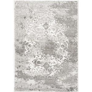 Tapis Platinum transitionnel de Kalora, 8' x 11' , gris