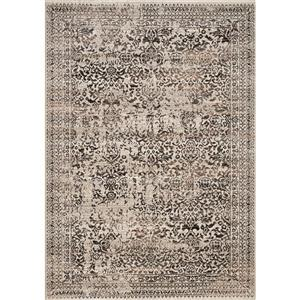 Kalora Parlour Distressed Traditional Rug - 8' x 11' - Grey