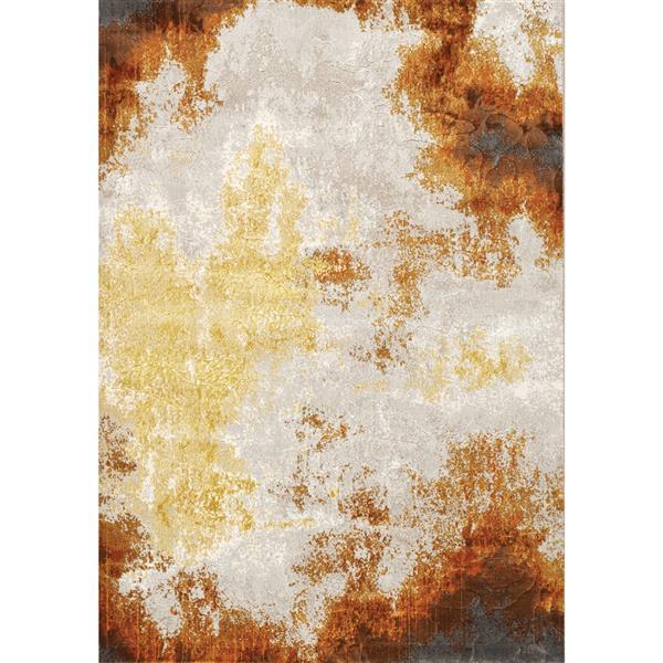 Tapis Parlour délavé de Kalora, 5' x 8', crème