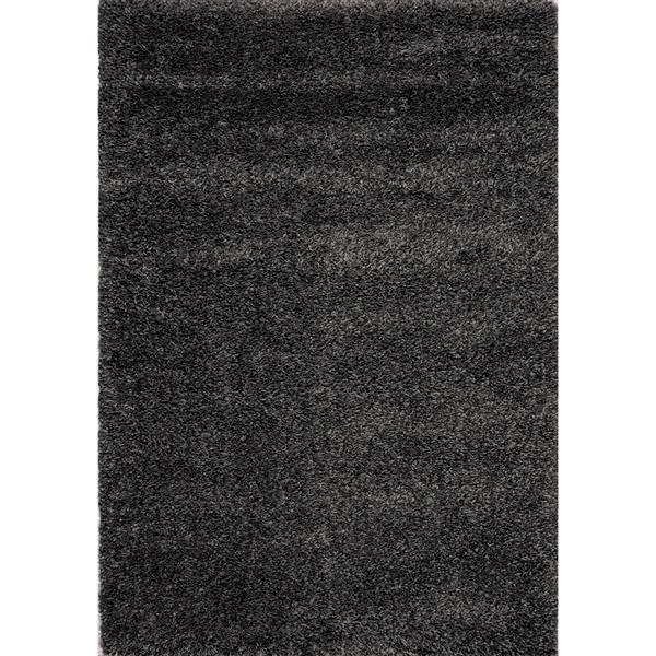 Tapis Opus de Kalora, 8' x 11', charbon