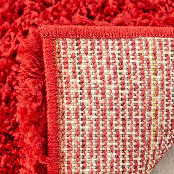 Tapis Opus de Kalora, 8' x 11', rouge