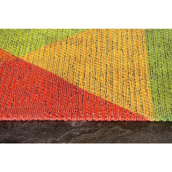 Tapis à diamant Morello coloré de Kalora, 5' x 8'