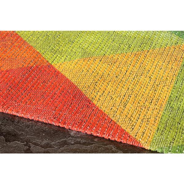 Tapis à diamant Morello coloré de Kalora, 8' x 11'