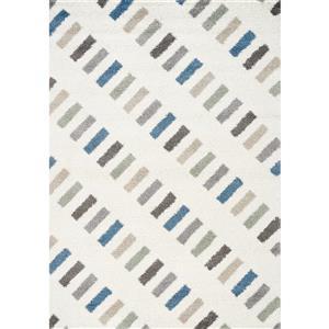 Kalora Mona Rectangles Rug - 8' x 11' - Blue
