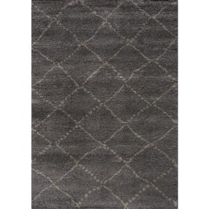 Kalora Maroq Diamonds Rug - 5' x 8' - Charcoal