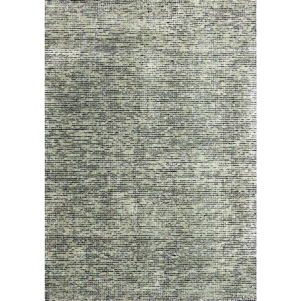 Tapis à pixel Manika de Kalora, 5' x 8', gris