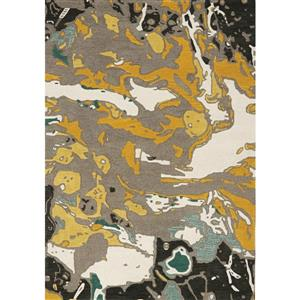Kalora Kaleido Handmade Rug - 8' x 11' - Grey