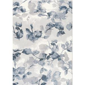 Kalora Intrigue Botanical Pattern Rug - 5' x 8' - Cream