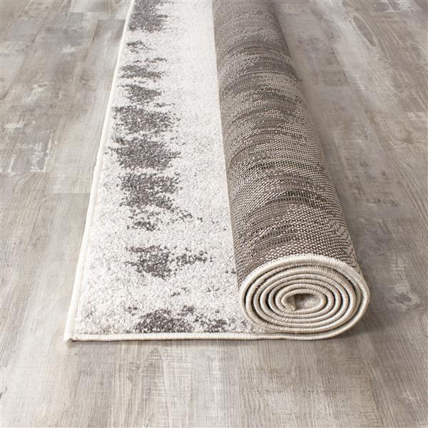 Tapis chic Focus de Kalora, 8' x 11', gris
