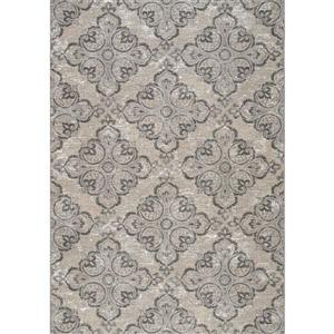 Kalora Domain Jacquard Pattern Rug - 8' x 11' - Grey