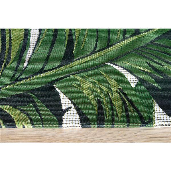 Kalora Domain Botanical Garden Outdoor Rug - 8' x 11'- Green