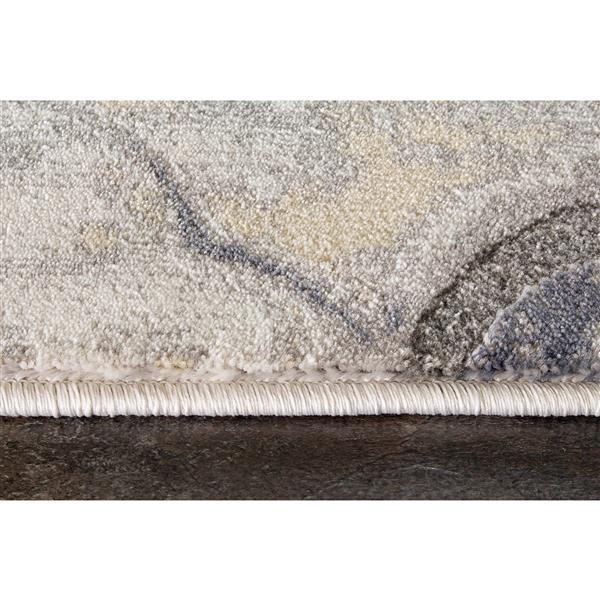 Tapis Ogee Darcey de Kalora, 8' x 11', gris