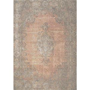 Kalora Cathedral Traditional Border Rug - 5' x 8' - Salmon