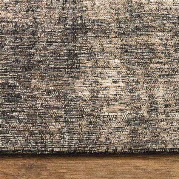 Tapis délavé Cathedral de Kalora, 7' x 10', gris