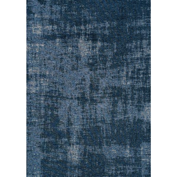 Tapis Cathedral de Kalora, 5' x 8', bleu
