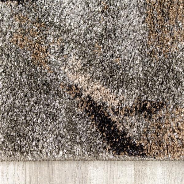 Tapis Ogee Breeze de Kalora, 5' x 8', gris