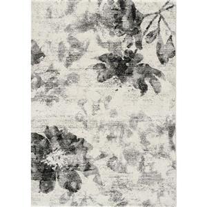 Kalora Breeze Floating Flowers Rug - 8' x 11' - Cream