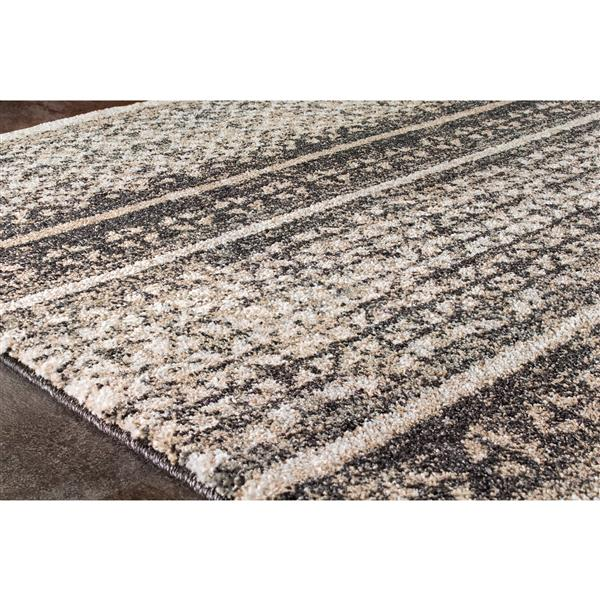 Tapis Breeze de Kalora, 8' x 11', brun