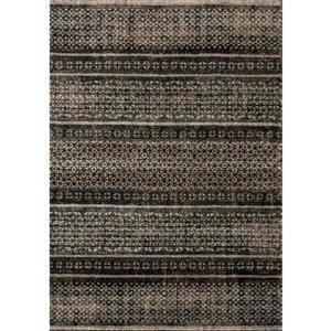 Kalora Breeze Intricate Bands Rug - 5' x 8' - Brown