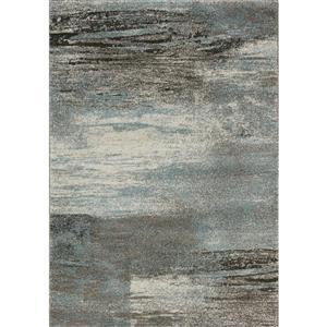 Tapis mélange Breeze de Kalora, 8' x 11', bleu