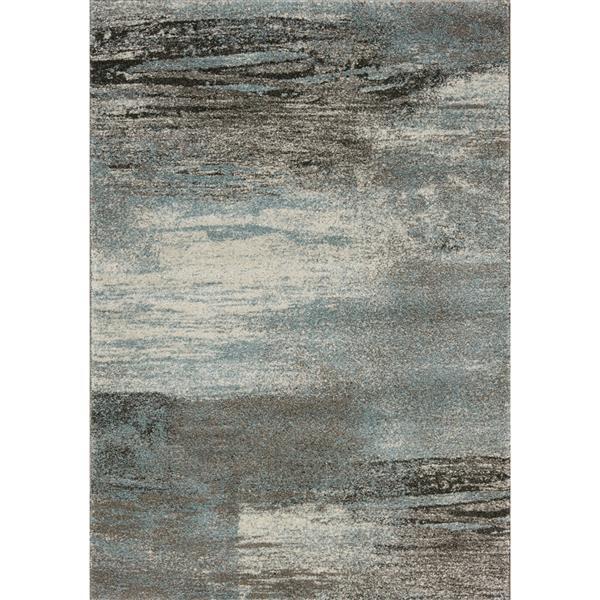 Tapis mélange Breeze de Kalora, 5' x 8', bleu