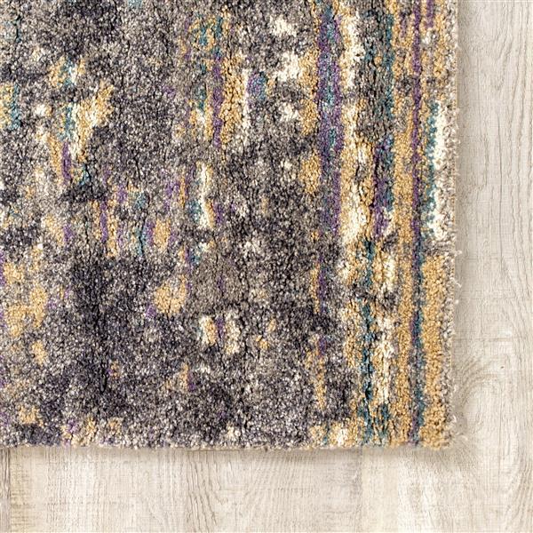 Tapis Ashbury de Kalora, 5' x 8', gris