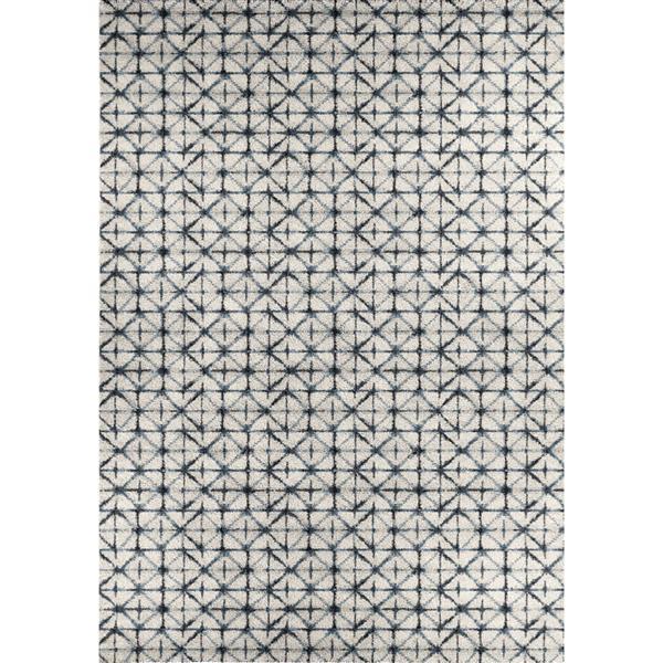 Tapis carré Ashbury de Kalora, 8' x 11', blanc
