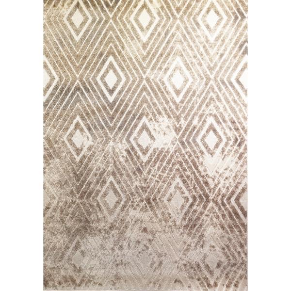 Tapis délavés Alta de Kalora, 8' x 11', beige