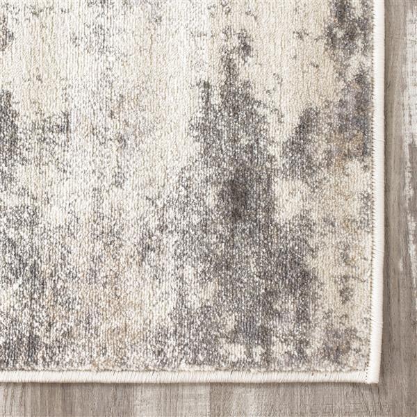 Tapis délavé de Kalora, 8' x 11', crème