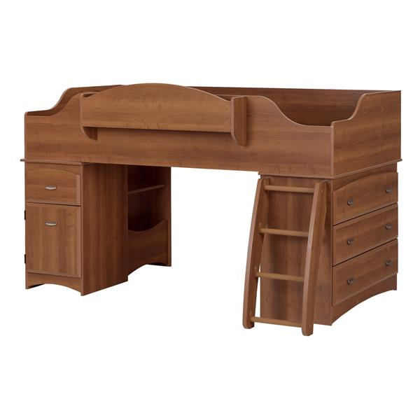 South Shore Furniture Morgan Cherry 40.50-in X 76.50-in Twin