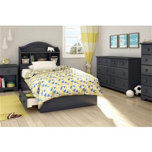 South Shore Furniture 3 Drawer Blueberry Summer Breeze Mates Full Bed