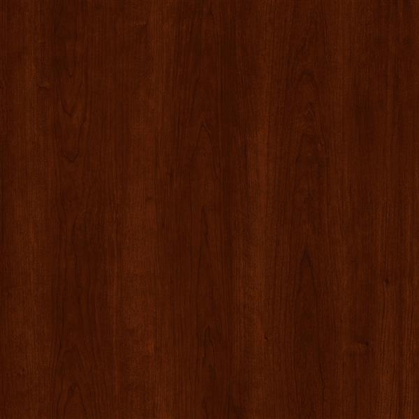 Lit plateforme Libra, cerisier royal, simple