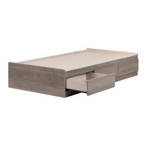 South Shore Furniture Savannah 3 Drawer Sand Oak Mates Bed