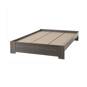 South Shore Furniture Gloria Gray 62.50-in x 83-in Platform Bed