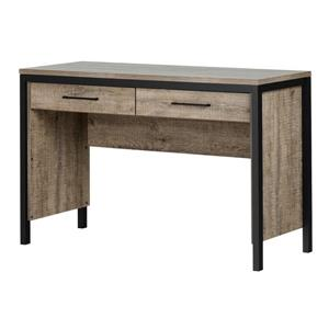 South Shore Furniture Munich 2-drawer Weathered Oak Desk