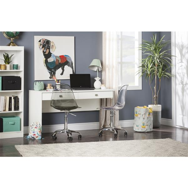 South Shore Furniture Interface 2-drawer Pure White Desk
