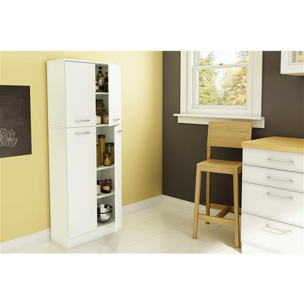 South Shore Furniture Axess 4 Door Storage Pantry