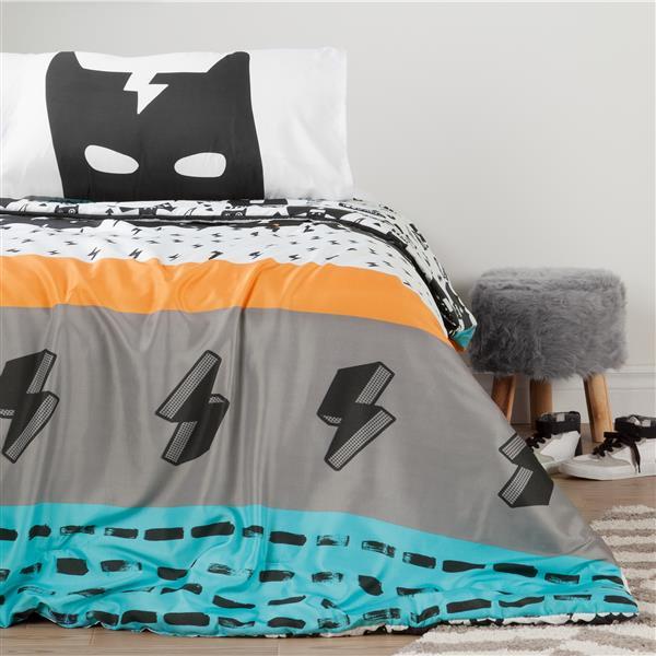 Douillette et taies d'oreiller Super-héros